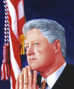 Bill Clinton von Alfons Kiefer