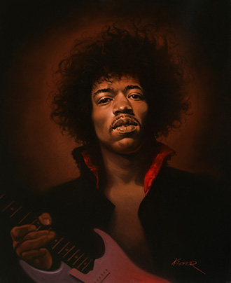 Jimmy Hendrix Illustration